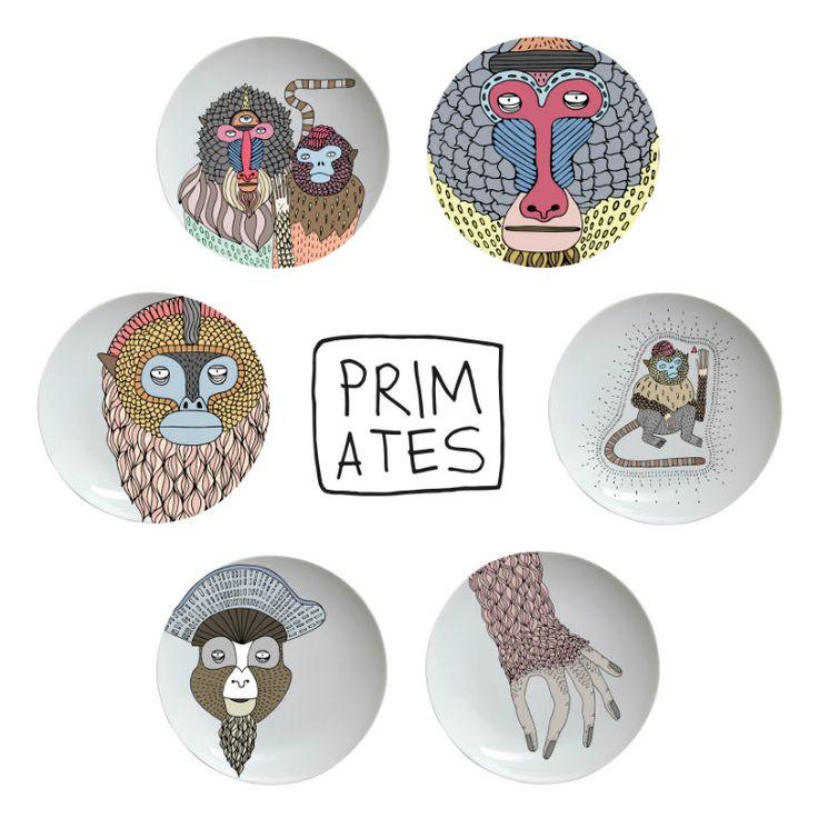 Primates_Plates_01 maison et objet 2017