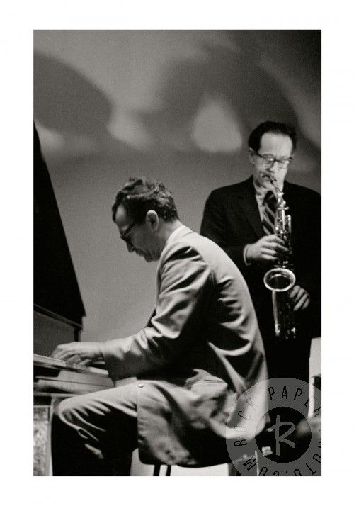 Dave Brubeck and Paul Desmond by Ryszard Horowitz www.RockPaperPhoto.com