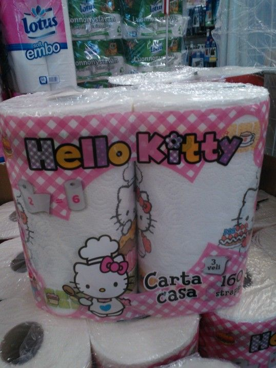 Hello Kitty talouspaperi :)