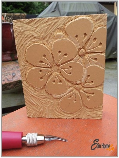 Best linoleum wood block prints stamp carving