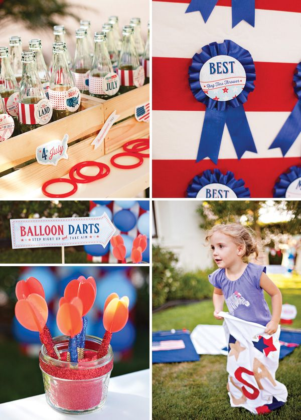 """All-American County Fair"" 4th of July Party Games"
