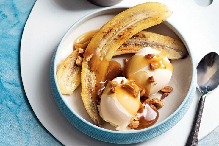Butterscotch and burnt butter bananas