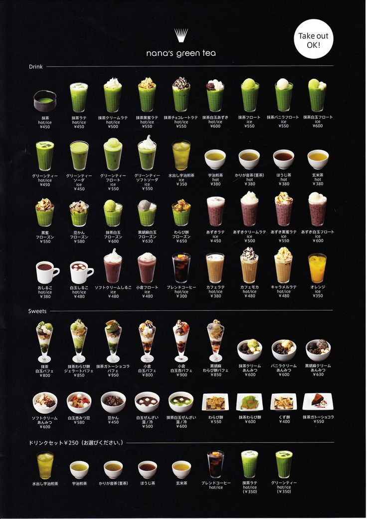 nana's green tea cafe