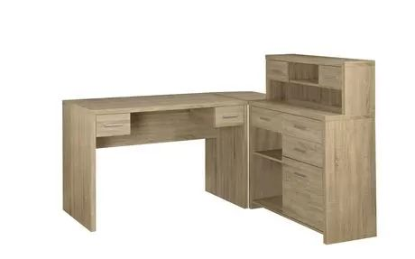 Natural Reclaimed-Look L Shaped Home Office Desk for sale at Walmart Canada. L 47.00 inches x W 24.00 inches x H 31.00 inches $399.00