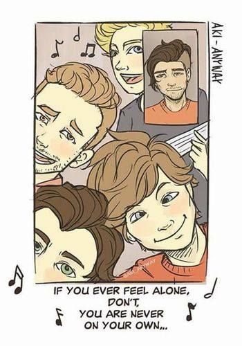 One Direction Cartoons About Zayn Malik Leaving That Will Make You Cry