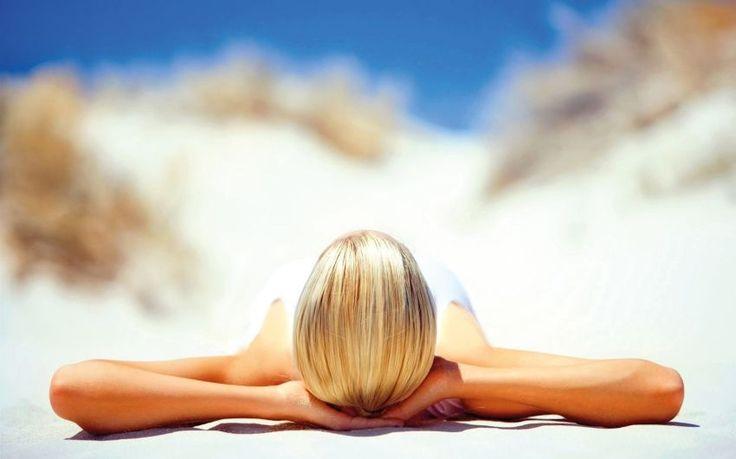 Vitamin D3-Produktion durch Sonnenbaden