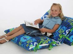 DIY: Kid-friendly pillow loungers; Easy steps to make the floor comfortable