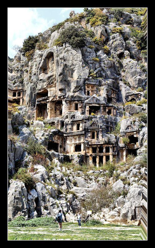 Myreest une ville antique de Lycie, au Sud-Ouest de l'Anatolie, sur le fleuve Myros