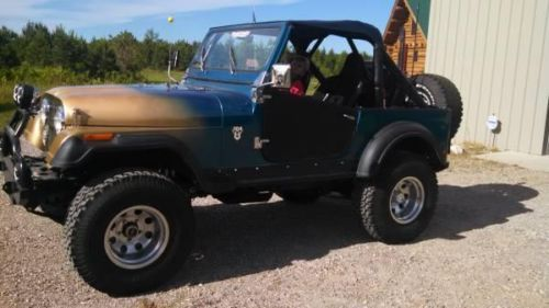 1978 Jeep CJ7 for sale (MI) - $12,500 Call Rich @ 734-748-4143