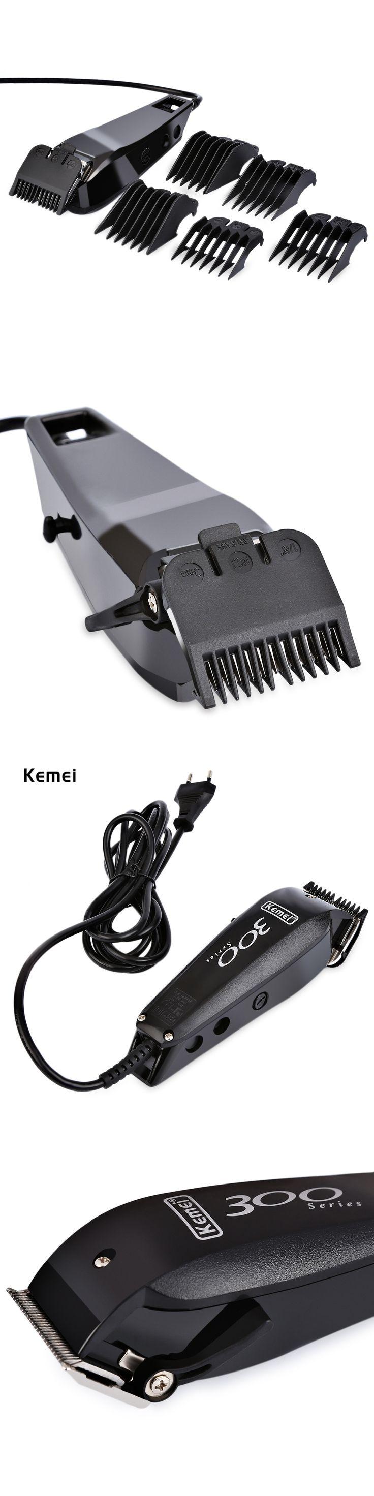 Electric Hair Clipper Ceramic Titanium Hair Trimmer For Men Barber Hair Cutting Machine Kemei 220-240v Professional Hair Trimmer
