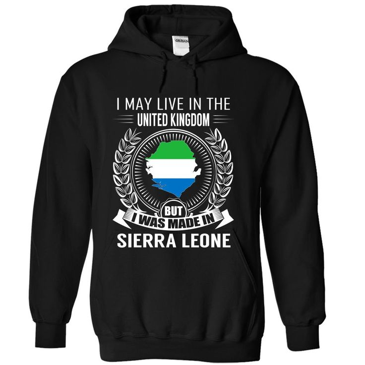 I May Live in the United Kingdom But I Was Made in Sierra Leone (New)