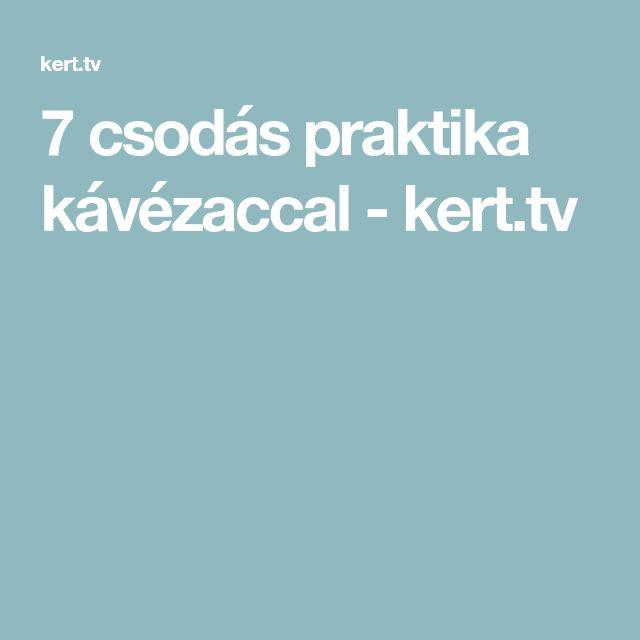 7 csodás praktika kávézaccal - kert.tv