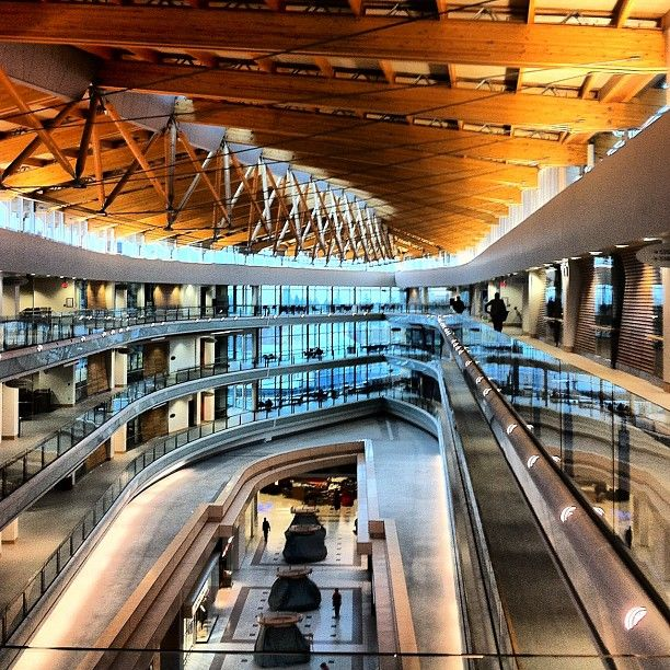 Simon Fraser University is located in Central City - 5 minutes away from KGIC Surrey. Check out this incredible building and enjoy the shopping - that's right, SFU Surrey is connected to a shopping mall!