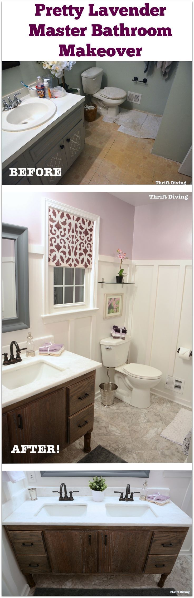 Best 25 old bathrooms ideas on pinterest average - Building a bathroom vanity from scratch ...
