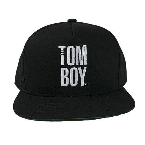 THE Tomboy Snapback Hat - Black   2014 TomboyX – Women's clothing, menswear inspired