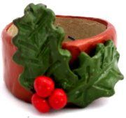 Polymer Clay – Holly Napkin Rings — craftbits.com