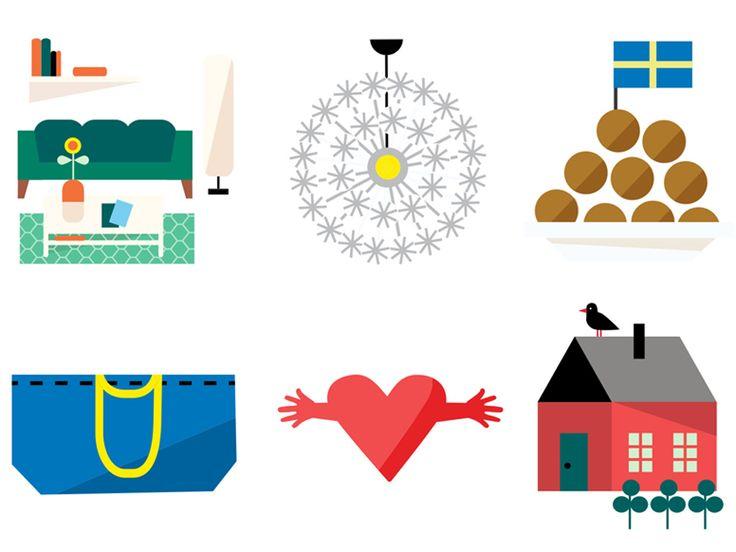 大手家具販売店イケアが、自社製品を表すオリジナルアイコン100個のアプリを発表した。これらを利用することで、家庭内のコミュニケーションがより円滑になると提案している。