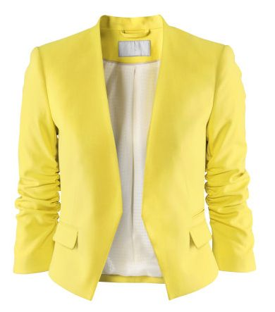 Yellow Blazer | Modescope http://www.modescope.com/