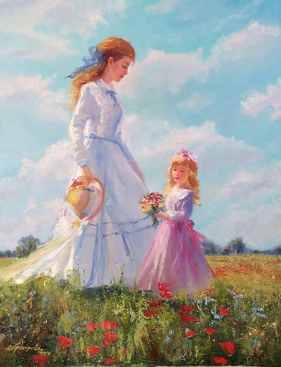 С днем Матери!, автор Инна Прохорова. Артклуб Gallerix