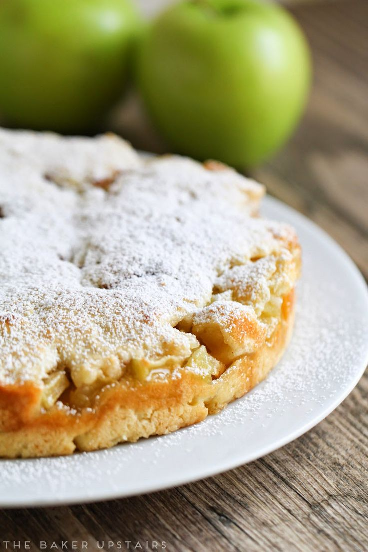 Okay, I'll admit it. I've been holding out on you with this post. I actually made this amazing Irish apple cake months ago for St. Pat...