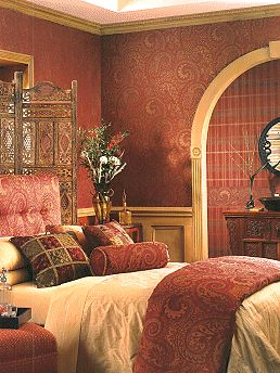 Decorating With Paisley My Blog Eye For Design Bedroom Decor Moroccan Style