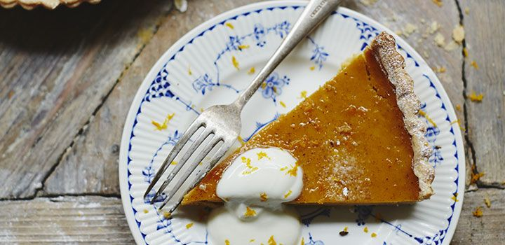 Jamie Oliver's Spiced Pumpkin Pie Recipe