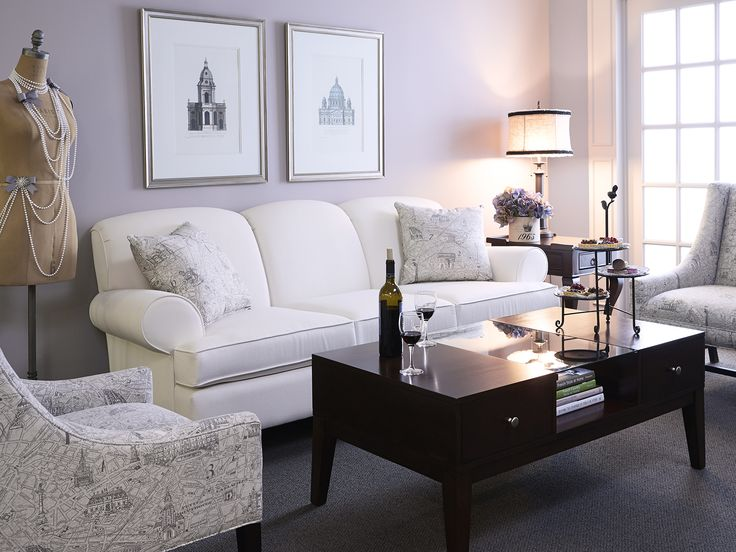 An example of what your living room could look like courtesy of Brentwood Classics! (upholstered furniture)