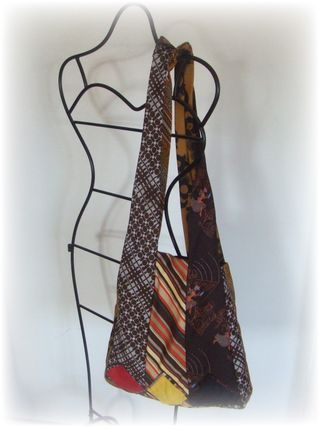 Upcycled Design Lab Blog - Upcycled Necktie Purse