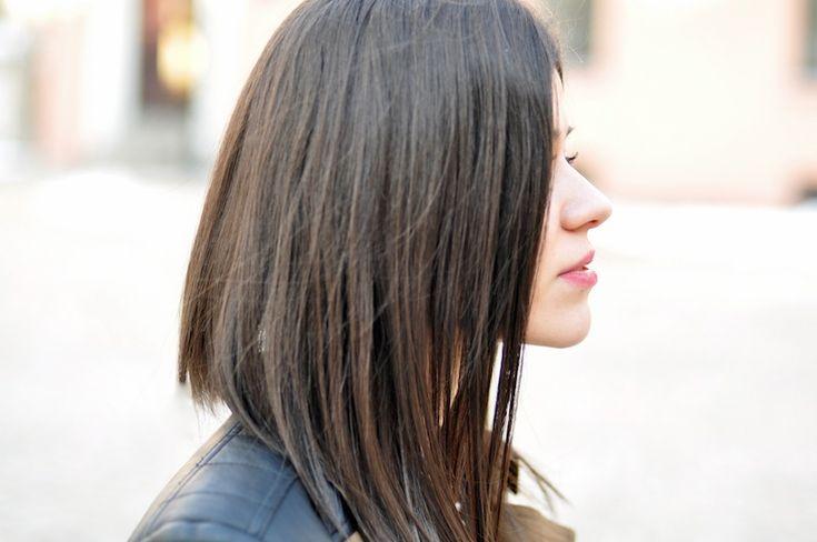 Nowa fryzura – Long bob   Fashionelka