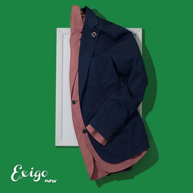 Scopri la nuova collezione di Giacche Exigo nella sezione dedicata sul nostro sito ufficiale: http://www.exigo.it/giacche-uomo-exigo/