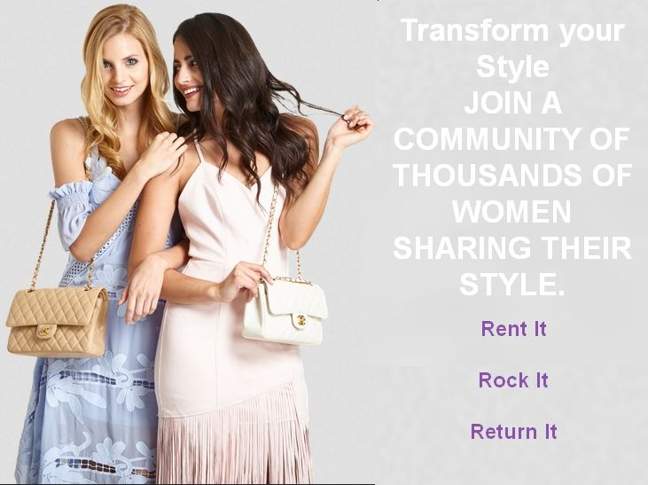 HOW IT WORKS  RENT Browse through thousands of unique designer items hand selected from New York's most stylish closets.  ROCK Get your pieces delivered in 2-3 days or within hours in NYC. Enjoy for 7 or 14 days. Only pay if it fits!  RETURN Ship items back in a pre-paid envelope. In NYC? We'll pick up your items on the return date. Dry cleaning is on us.