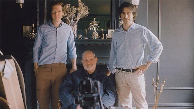 Brian de Palma, Noah Baumbach, Jake Paltrow in the documentary De Palma
