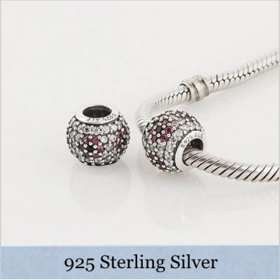 Disney Style CASTLE Sterling Silver Charm Bead - Great Detail - Unusual Design - Fits European Charm Bracelets sNjbb