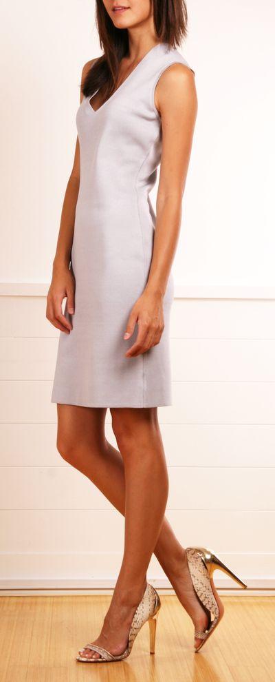 simple, vestido de AKRIS