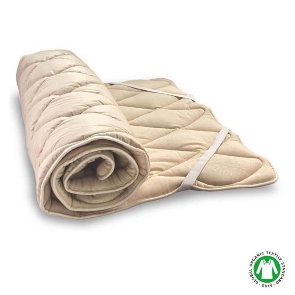 Woll Soft es un topper natural muy parecido altopper Wollporque está relleno de auténtica lana virgen y se fija al colchón con el mismo tipo de cintas elásticas. La diferencia entre ambos es el acabado de la funda de algodón orgánico: en ...