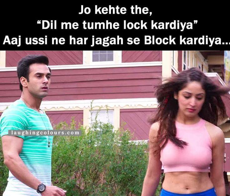 unn hone har jaga block kiya hai mujhe.. | Shayari | Pinterest