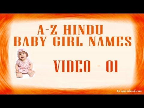A to Z Hindu Baby Girl Names with Meanings | Vdo4u