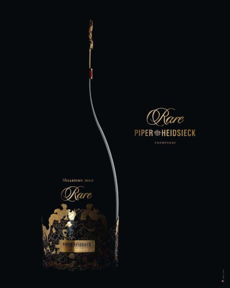 Rare Piper Heidsieck Champagne #wine #advertisement #champagne