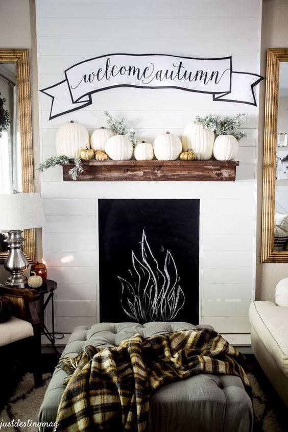 The Ultimate Fall Decorating Guide: 30 Ideas to Try This Weekend | If you're stuck on how to bring the cozy, hygge vibes into your living space, scroll on for a wealth of inspiration. From kitchen table centerpieces, to fireplace mantel ideas, to bar cart DIY decor, ahead is your ultimate fall decorating guide chock full of ideas to try this weekend.