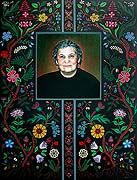 Christi Belcourt- The Great Métis of My Time - permanent collection of the Gabriel Dumont Institute