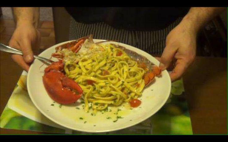 Tagliolini all'Astice, Chef Barbato
