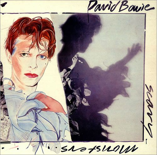 David Bowie Scary monsters album - Bing Images