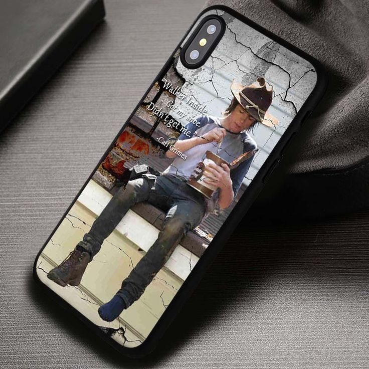 The Walking Dead Carl Grimes Zombie - iPhone X 8  7 6s SE Cases & Covers #movie #thewalkingdead #quote #iphonecase #phonecase #phonecover #iphone7case #iphone7 #iphone6case #iphone6 #iphone5 #iphone5case #iphone4 #iphone4case #iphone8case #iphoneXcase #iphone8plus