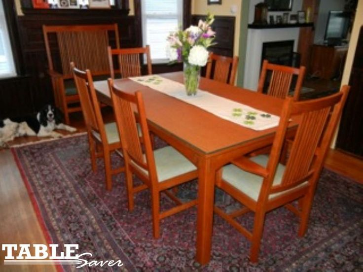 wwwtablesavercom tablesaver table pads table pads saver - Protective Table Pads Dining Room Tables