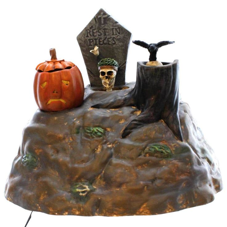 Dept 56 Accessories Animated Skulls Village Animated Halloween Accessory