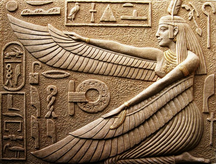 Maat or ma'at was the ancient Egyptian concept of truth, balance, order, law, morality, and justice. Maat was also personified as a goddess regulating the stars, seasons, and the actions of both mortals and the deities,
