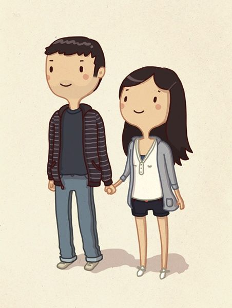 Cartoon Characters Couples : Best ideas about couple cartoon on pinterest