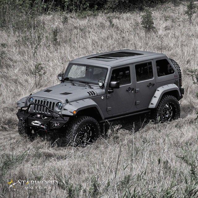 """@StarwoodMotors Jeep   #blacklist #starwoodmotors #jeep"""