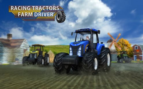 Challenge the other farmers in a thrilling #tractor #racing #game!