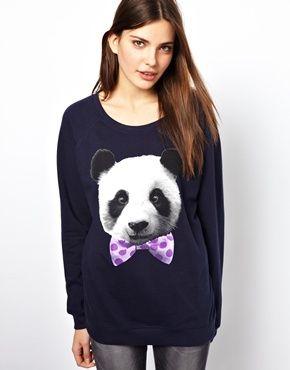 Изображение 1 из Свитшот с пандой-модником Goodie Two Sleeves